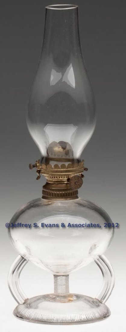 128: RIPLEY PATENTED FOOTED FINGER LAMP