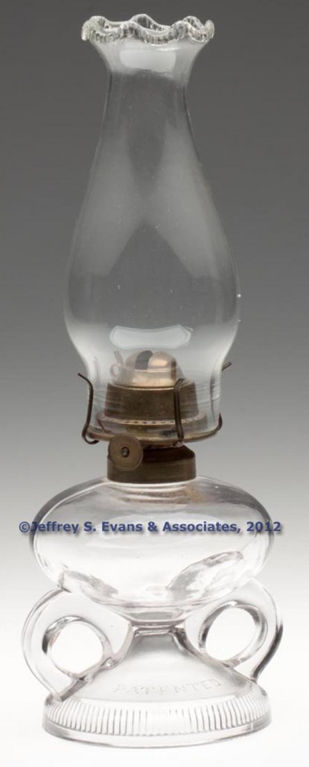 129: RIPLEY PATENTED FOOTED FINGER LAMP