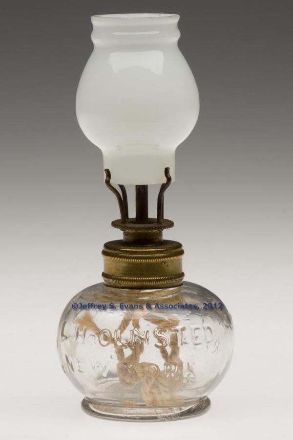 "136: ""LITTLE HARRY'S"" MINIATURE FINGER LAMP"