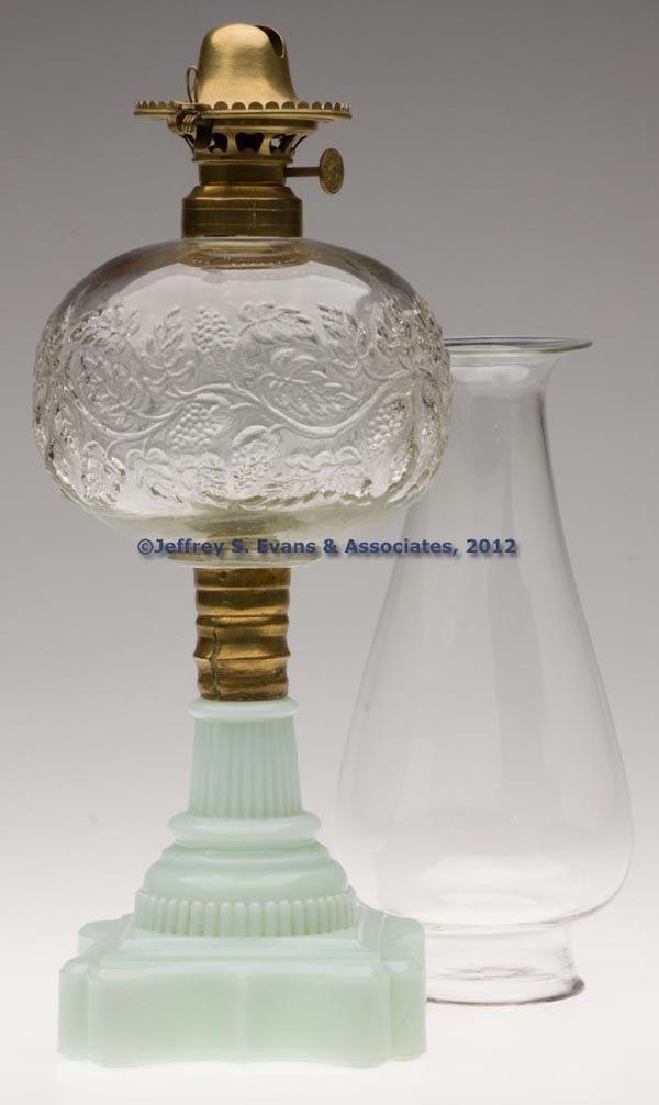 159: BLACKBERRY STAND LAMP