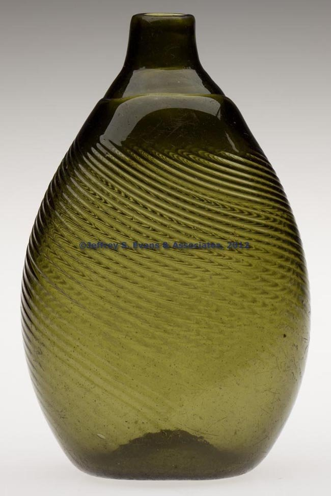 51: PATTERN-MOLDED PITKIN-TYPE FLASK