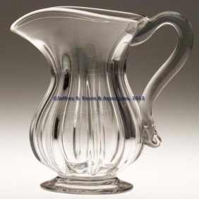 PILLAR-MOLDED WATER PITCHER