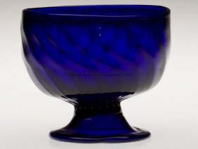 PATTERN-MOLDED OPEN SUGAR BOWL