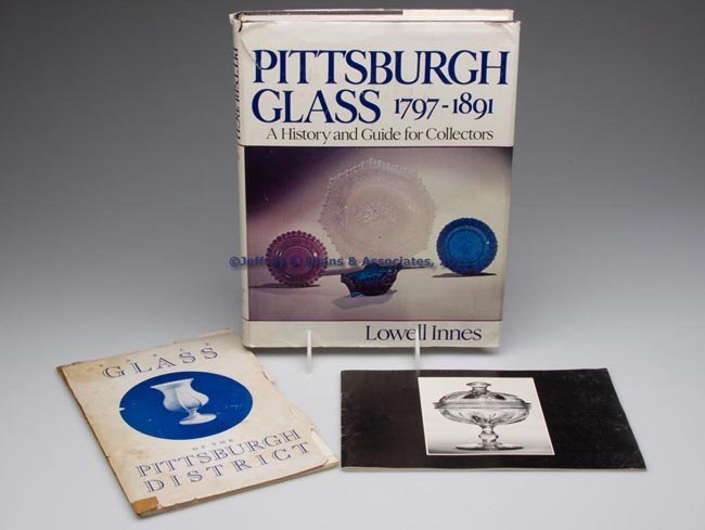 455: PITTSBURGH GLASS REFERENCE VOLUMES, LOT OF THREE