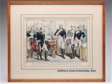 163 N CURRIER AMERICAN HISTORICAL PRINT