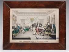 164 N CURRIER AMERICAN HISTORICAL PRINT