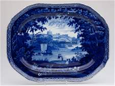 678: CLEWS STAFFORDSHIRE TRANSFERWARE PLATTER