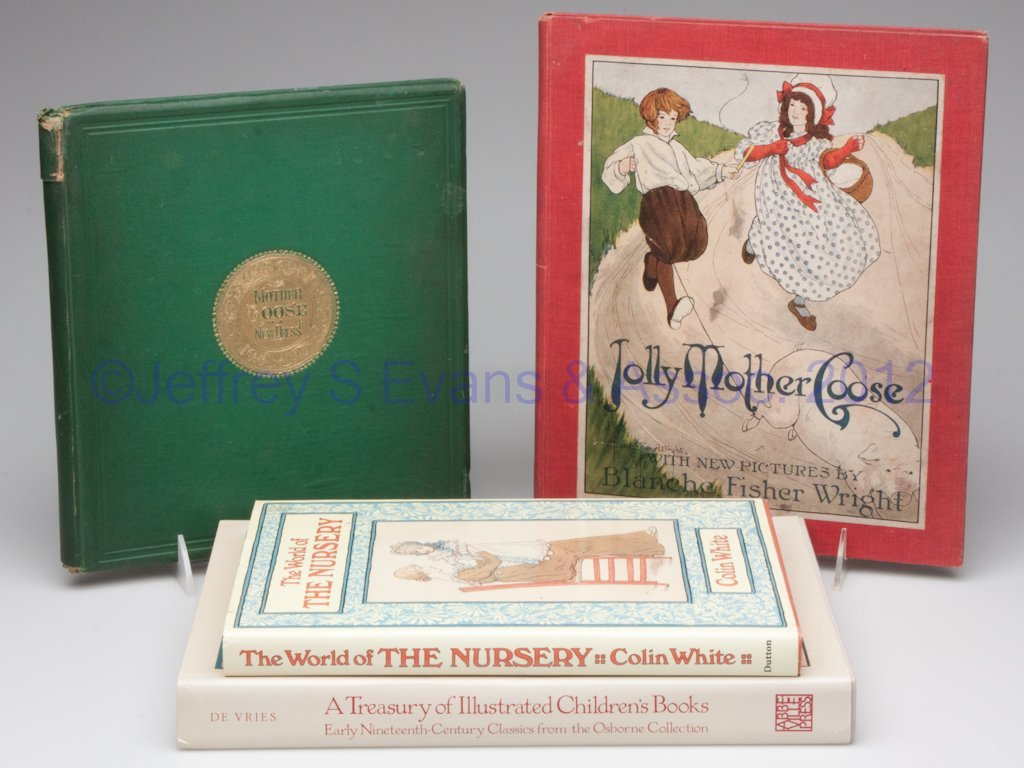 6: CHILDREN'S / ILLUSTRATED VOLUMES, LOT OF FOUR