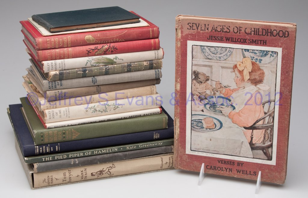 10: ILLUSTRATED VOLUMES, LOT OF 17