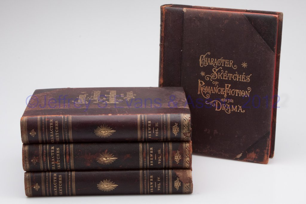 11: LITERARY VOLUMES, SET OF FOUR