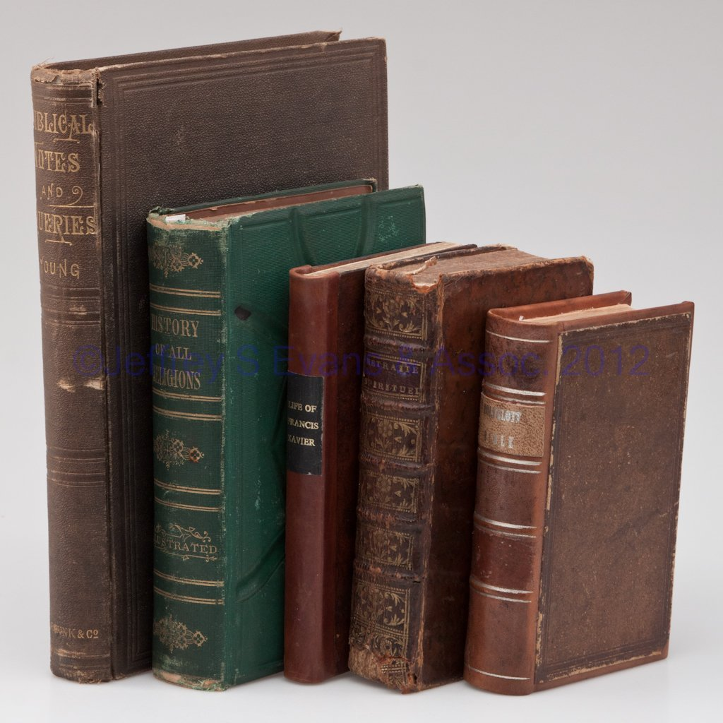 15: RELIGIOUS VOLUMES, LOT OF SIX