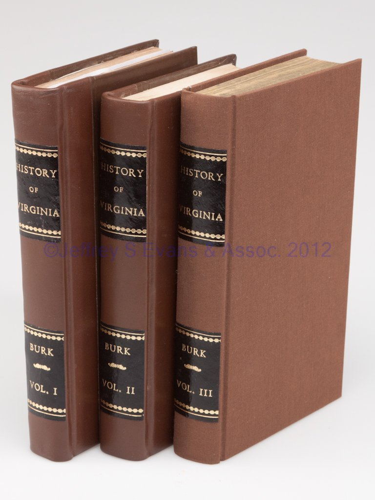 20: VIRGINIANA VOLUMES, SET OF THREE