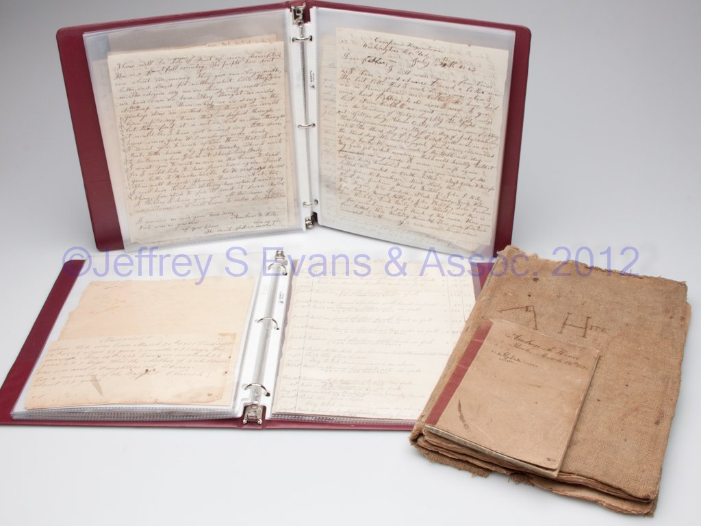 57: PAGE CO., VIRGINIA CIVIL WAR MANUSCRIPT LETTERS