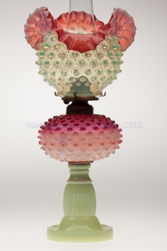 1074: DEWDROP STAND LAMP