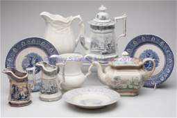 620 STAFFORDSHIRE TRANSFERWARE AND IRONSTONE ARTICLES