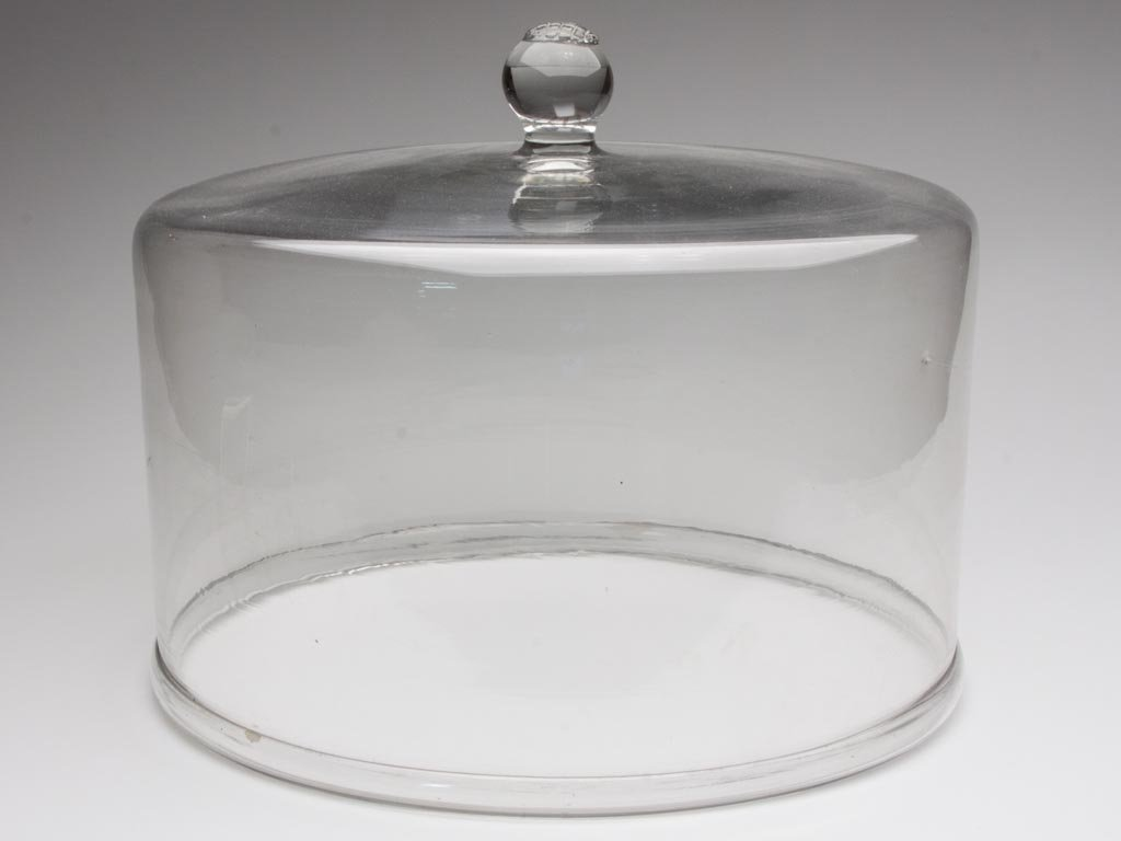 COUNTRY STORE BLOWN GLASS LARGE CHEESE / CAKE DOME