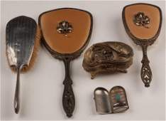 ASSORTED LADY'S ACCOUTREMENTS, LOT OF FIVE