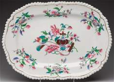ENGLISH REGENCY-PERIOD CHINOISERIE PORCELAIN ROUNDED-RE