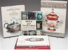 FIVE VOLUMES ON PORCELAIN AND ANTIQUES