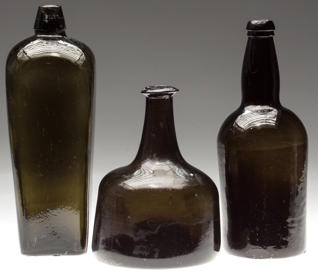 ASSORTED UTILITY BOTTLES, LOT OF THREE
