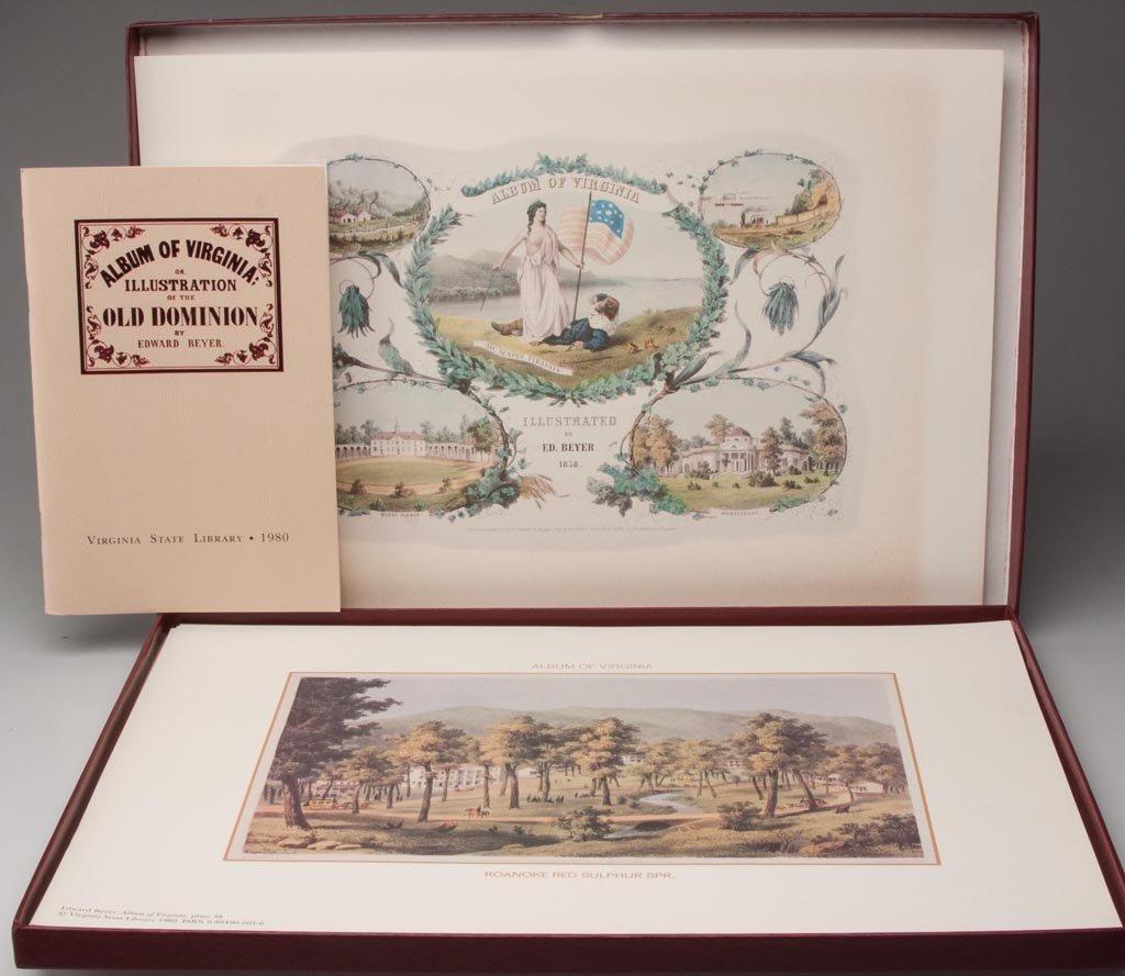 "EDWARD BEYER (1820-1865) ""ALBUM OF VIRGINIA"" FOLIO"