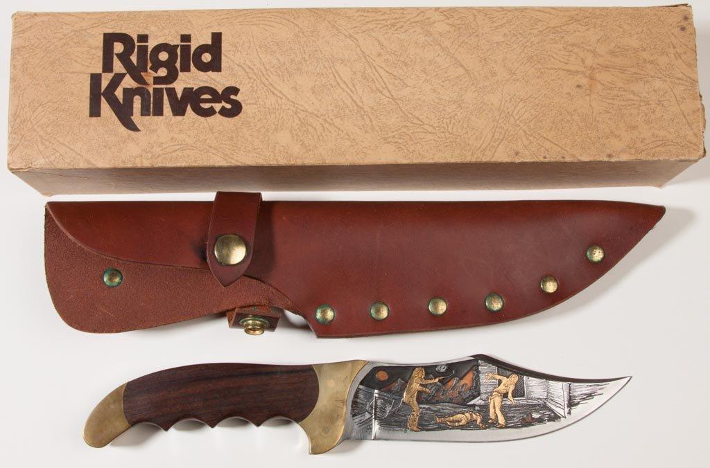 RIGID NO. R-19 RAZORBACK WITH SHAW-LEIBAWITZ ENGRAVING