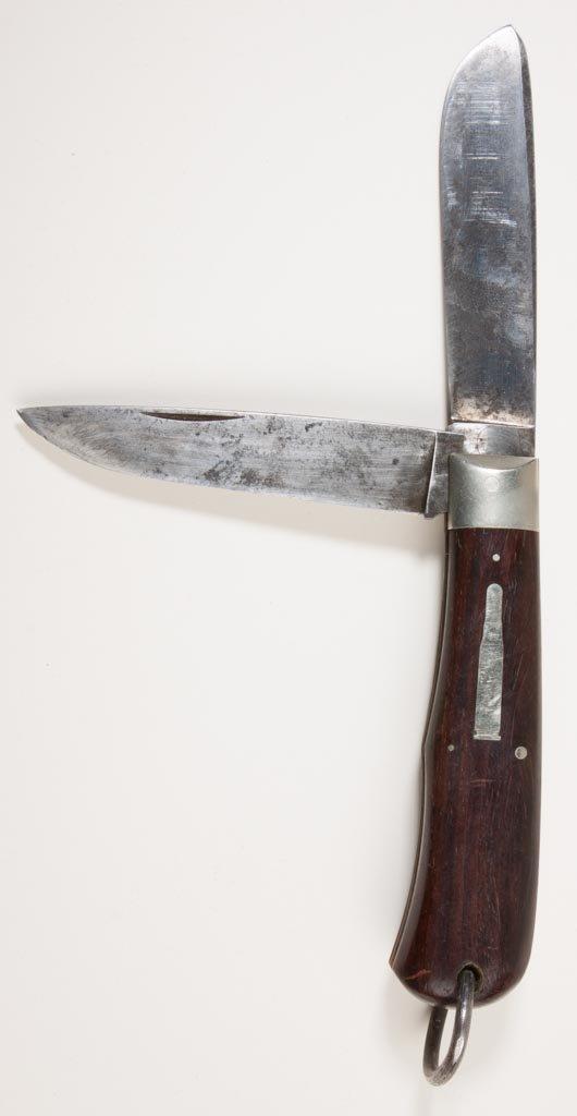 """REMINGTON UMC R1128 """"TRAPPER"""" BULLET POCKET KNIFE"""