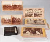 ASSORTED REALPHOTO STEREOVIEW CARDS LOT OF 60