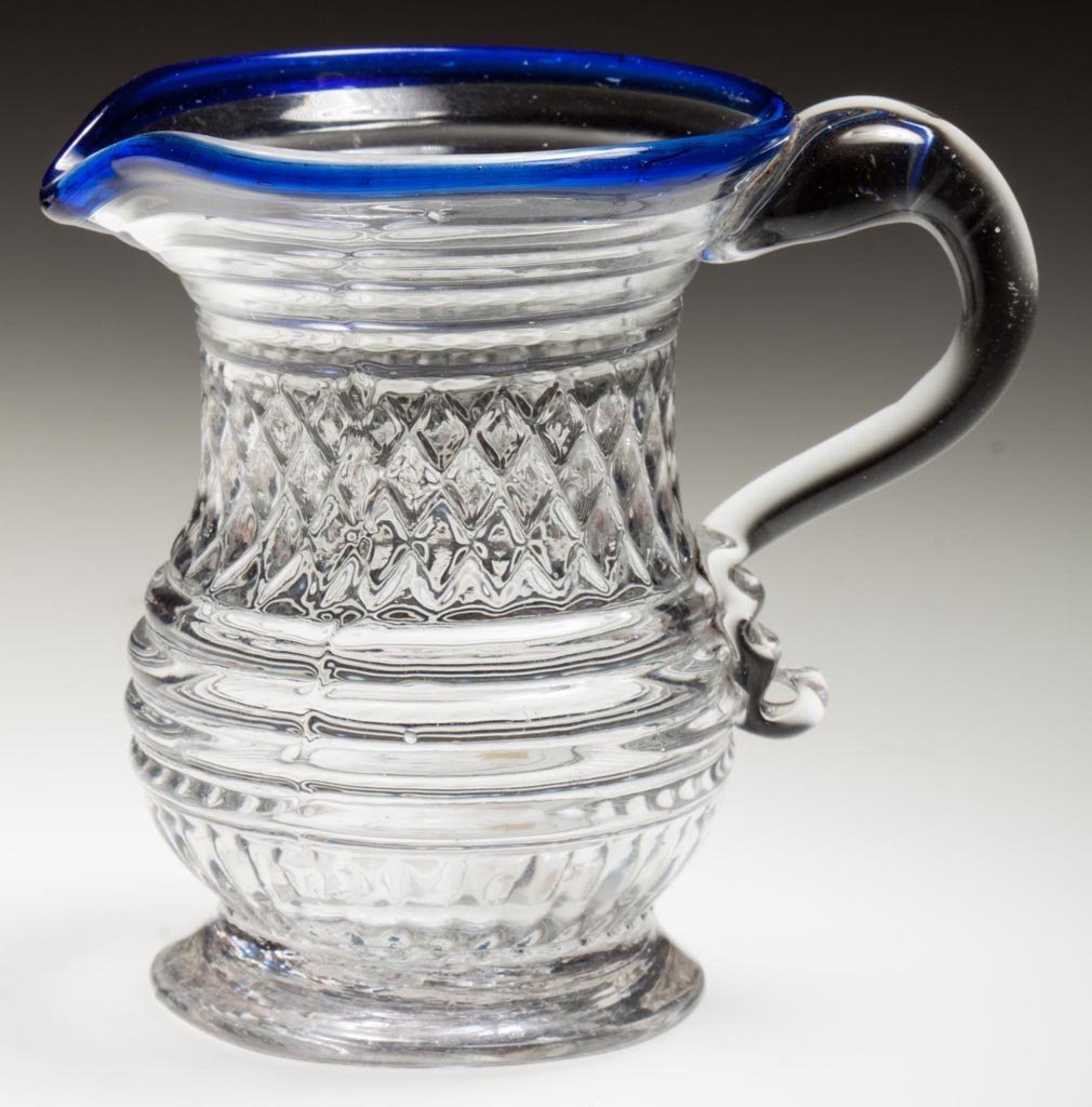 BLOWN-MOLDED GII-12 DIMINUTIVE CREAM JUG