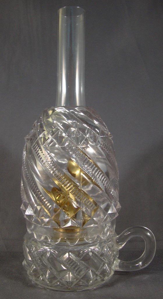 ZIPPER SWIRL MINIATURE FINGER LAMP