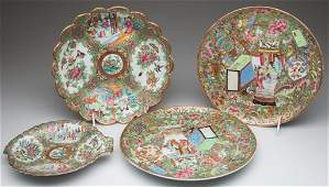 CHINESE EXPORT PORCELAIN CANTON FAMILLE ROSE ARTICLES