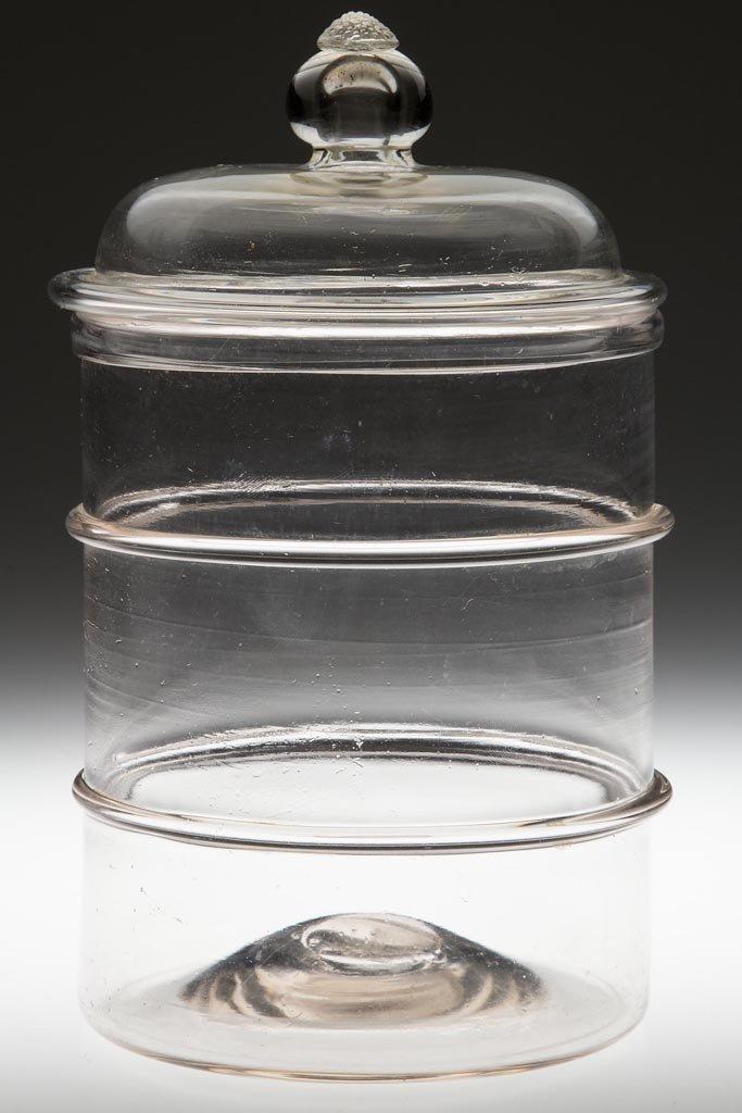 FREE-BLOWN RING JAR
