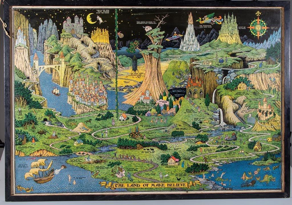 jaro hess quotthe land of make believequot poster