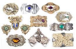 VINTAGE COSTUME JEWELRY, LOT OF 12 PIECES