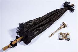 ASSORTED LADY'S ACCOUTREMENTS, LOT OF THREE