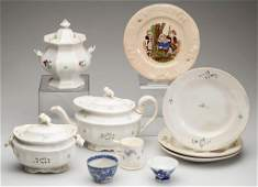 ENGLISH STAFFORDSHIRE POTTERY CHILDREN'S AND OTHER