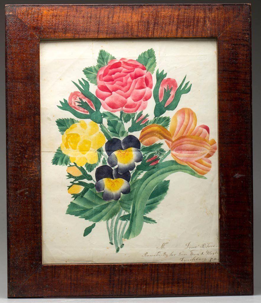 FINE SIGNED AND INSCRIBED LYNCHBURG, VIRGINIA FOLK ART