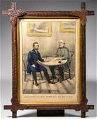 CURRIER AND IVES CIVIL WAR HISTORICAL PRINT
