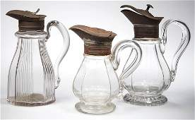ASSORTED BLOWN-MOLDED MOLASSES CANS / SYRUP JUGS, LOT