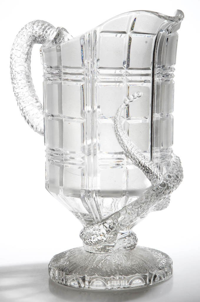 BAKEWELL WAFFLE AND SNAKE WATER PITCHER - 2