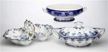 ENGLISH STAFFORDSHIRE POTTERY AND CONTINENTAL PORCELAIN