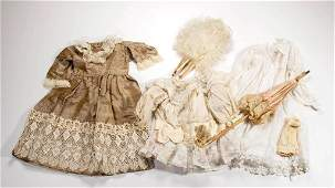ASSORTED VINTAGE DOLL CLOTHING AND ACCESSORIES, LOT OF