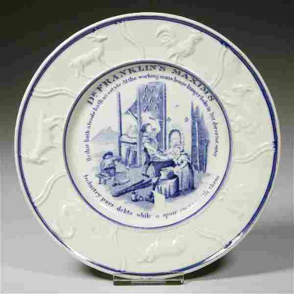 ENGLISH STAFFORDSHIRE POTTERY PEARLWARE CHILDREN'S