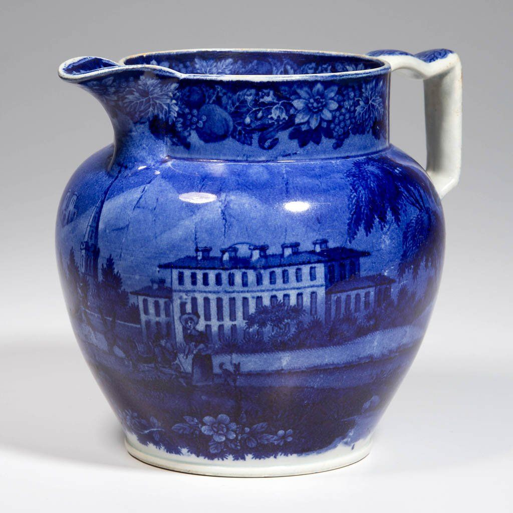 ENGLISH STAFFORDSHIRE HISTORICAL POTTERY PEARLWARE