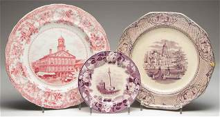 ENGLISH STAFFORDSHIRE POTTERY COMMEMORATIVE AND