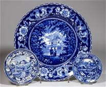 ENGLISH STAFFORDSHIRE POTTERY PEARLWARE