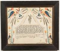 1814 EMANUEL ROLAR, ROCKINGHAM CO., SHENANDOAH VALLEY