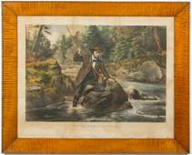 CURRIER AND IVES SPORTING PRINT