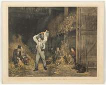 CURRIER AND IVES GENRE PRINT