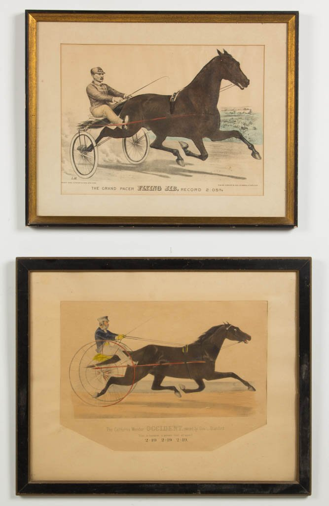 CURRIER AND IVES SPORTING PRINTS, LOT OF TWO